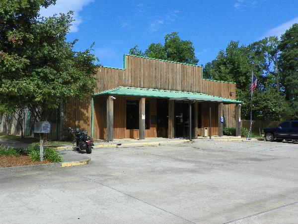 Front of West Ouachita Branch Library